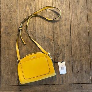 NWT Steve Madden Mustard Crossbody Bag